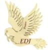 Gold Dove Ornament