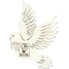 Silver Dove Ornament