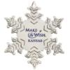 Silver Snowflake Ornament