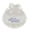 Silver Ball Shape Ornament