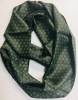 100% Silk Infinity Scarf, 10