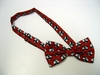100% Polyester Bow Tie- Pre-Tied and Banded