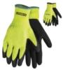 Hi-Vis Palm Dipped Gloves
