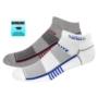 Top Flite Low Cut Half Cushion Runners Socks