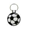 Embroidered Soccer Ball Key Ring