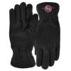Fleece Text Gloves