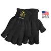 USA Made Fingerless Medium Weight Knit Gloves