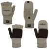 Fingerless Glove/Mitten Combo