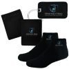 Fuzzy Feet, Luggage Tag, and RFID Blocking Wristband Wallet Combo