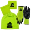 Hi-Vis 3 in 1 Band-Nitrile Gloves- Performance Beanie Combo