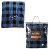 Buffalo Plaid Micro Mink Sherpa Blanket