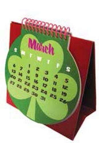 Custom 4-color process tent style calendar
