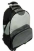 Roller bag with many feature pockets and 3-tone construction