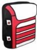 2-D cartoon style backpack