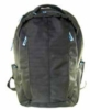 Nylon backpack with PMS matched zipper pulls and lining