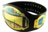Custom metal and leather decorative belt