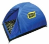 Custom PMS matched tent with step and repeat lining