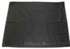 Microfiber cleaning cloth with tone on tone logo