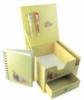 Custom 4-color process paper/pen gift set