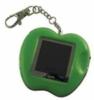 Apple shaped digital key chain photo frame