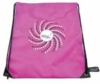 Drawstring bag in PMS matched color with logo
