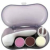 Mini travel foot massager set with case