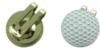 Golf ball shaped golf ball marker