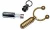 Pill holder key ring