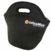 Neoprene lunch bag with 4-color heat transfer logo