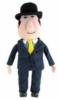 Custom shaped toy plush guy