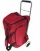 Roller bag with many feature pockets and imprint or embroidery capability