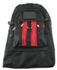 Large backpack in 600D nylon with solar panel for charging any cell phone or MP3/MP4 player