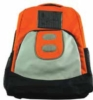 Backpack in 600D nylon with solar panel for charging any cell phone or MP3/MP4 player