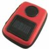 Portable solar panel travel speaker bag