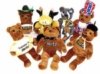 Unique plush toys in cotton or bean fill with all shapes and sizes available