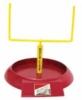 Custom shaped football goal food caddy with logo