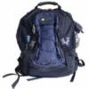 Hiking and camping ripstop nylon backpack