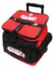 Rolling cooler bag with logos