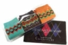 Custom printed signature socks and scarf with logoed gift box