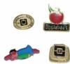 Assorted custom metal lapel pins