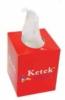 Desk-top tissue box