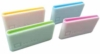 PMS matched color inlay money clip with embossed logo