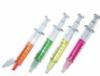 Syringe shaped highlighter