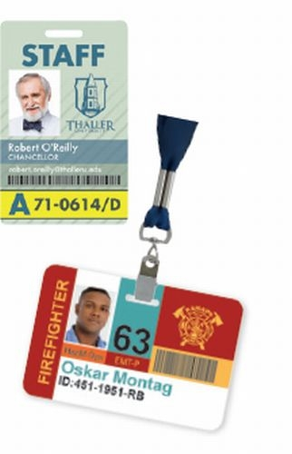 Retractable Badge Holder with Slide Clip