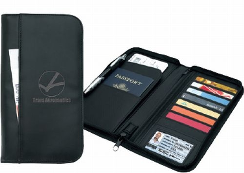 Travel Zippered Wallet