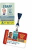 Retractable Badge Holder with Alligator Clip