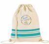 Springtide Cotton Drawstring Backpack - New