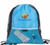 Color Flip Drawstring Backpack - New