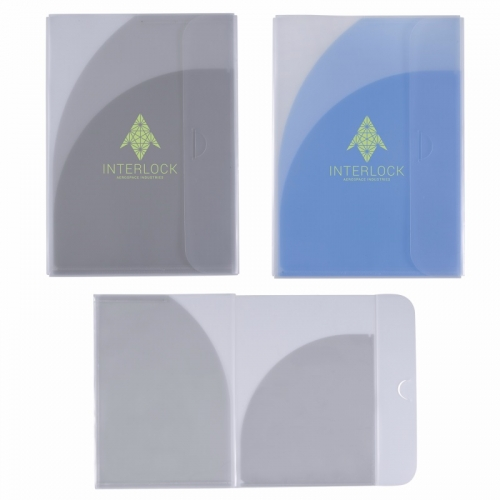 Two-Pocket Folder with Tuck Closure