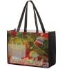 Full Coverage PET Non-Woven Tote Bag w/ Full Color (16